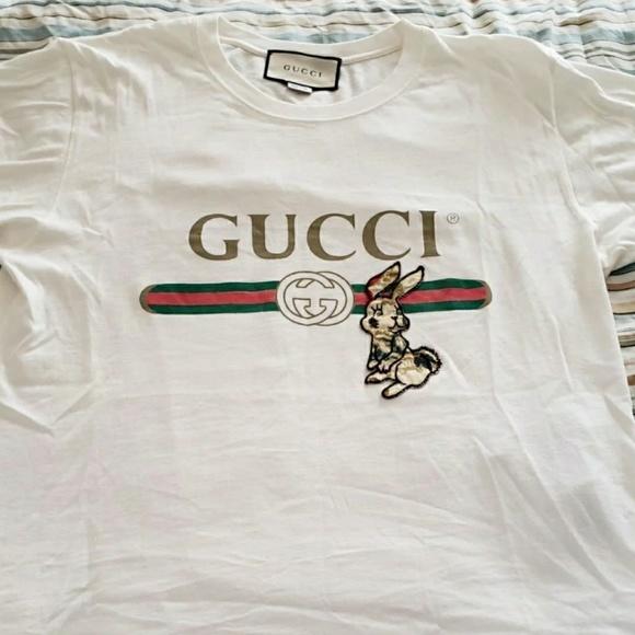 0fd88bc19 Gucci Shirts | Men Rabbit T Shirt | Poshmark